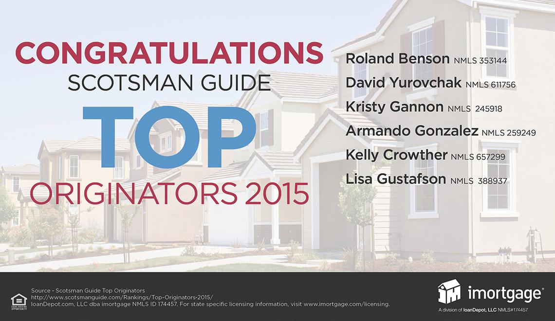 Top Mortgage Originators In The Us