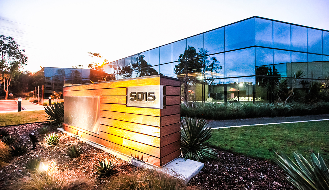 Voit Real Estate - 5015 Shoreham Pl - Commercial Real Estate Photography San Diego by AbounaPhoto
